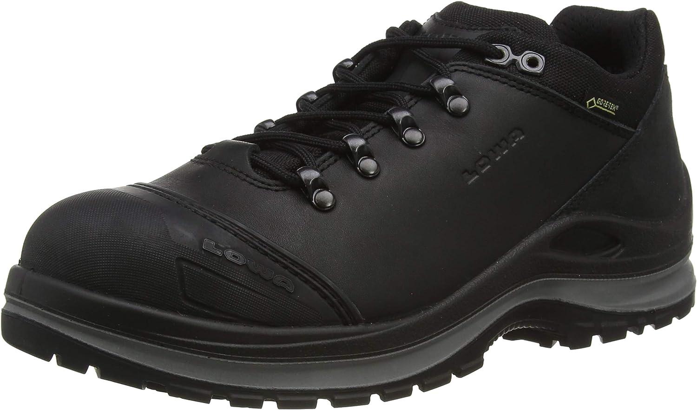 Lowa Unisex Safety Boots, Black Black 0999, 10.5 US Men