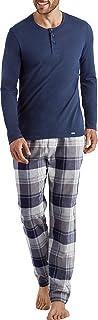 Hanro Men's Thilo Long Woven Pant Pajama Bottom