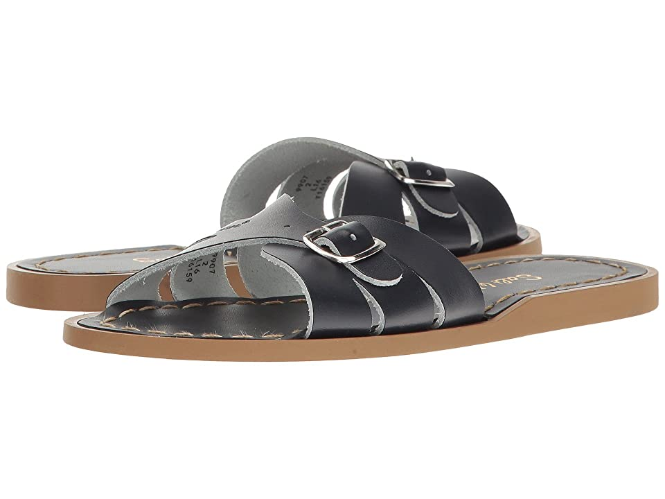 Salt Water Sandal by Hoy Shoes Classic Slide (Little Kid) (Navy) Girls Shoes