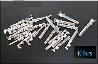 10 Pairs Deutsch DT Series pin Connector Male & Female 20 pcs Terminals Metal