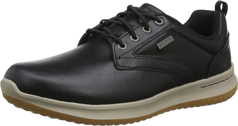 Skechers Mens Delson- Antigo Fashion Sneakers