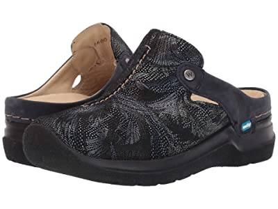 Wolky Holland (Blue Antique Palm Suede) Women