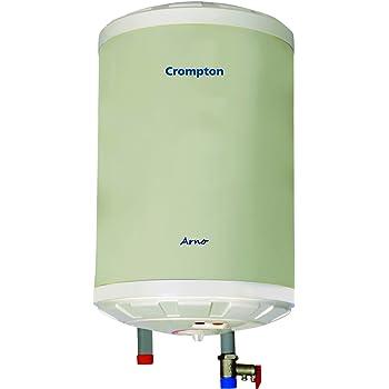 Crompton Arno 10-Litre Storage Water Heater (Ivory)