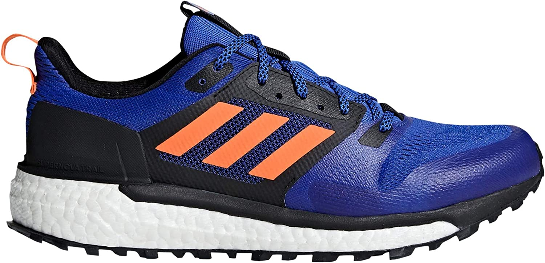 Adidas Sport Performance Men's Supernova Trail Sneakers, bluee, 15 M