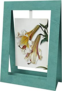 2 Lillies Mini Swing Elegant Blank Greeting Cards with Floral Designs for Anniversary, Baby Shower, Birthday, Wedding, and...