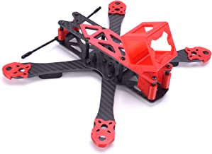 FPVDrone 225mm FPV Racing Drone Frame Carbon Fiber 5inch Quadcopter Frame Kit with 3D Printed Camera Mount for Gopro