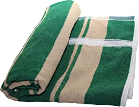 NOHUNT Bath 100% Cotton Towel Ultra Soft, Absorbent and Anti Microbial Bath Towel 30X60 Inches (Green) 1pc