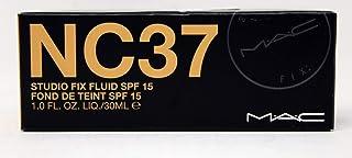 ماك استديو فيكس فلويد كريم اساس مع حماية من الشمس SPF 15 ، موديل NC 37