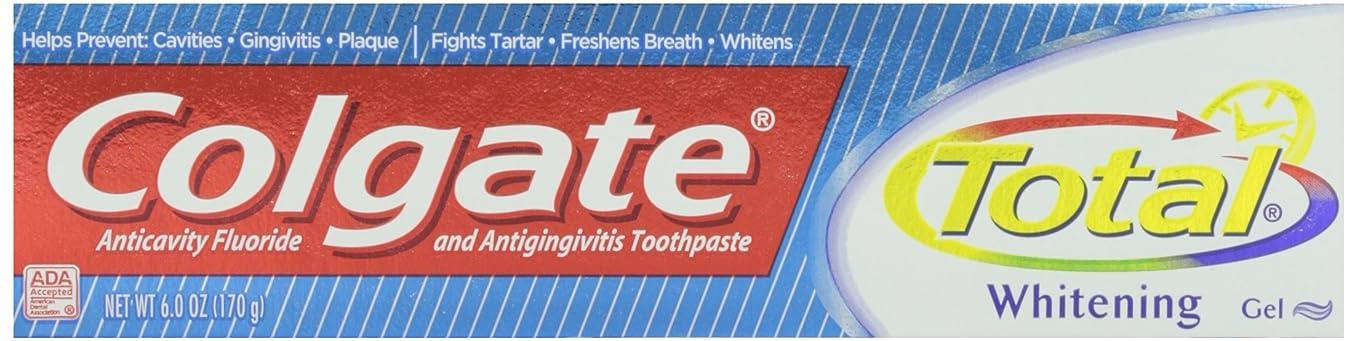 ペインギリック涙が出るエントリColgate トータルプラスホワイトニングジェル歯磨き、6オンス 1パック