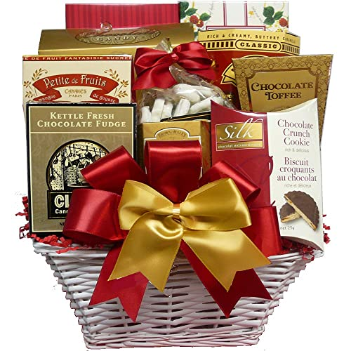 bda18d47d38d The Sweet Life Gift Basket with Cookies, Candy, Snacks and Treats All  Occasion Present