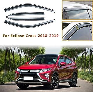 Piaobaige 4 teilige Autofenster Visiere Sonnenregenschutz Windabweiser für Mitsubishi Eclipse Cross 2018 2019