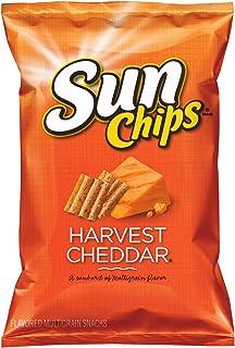 Sunchips, Harvest Cheddar, 7 Ounce, (4-Pack)