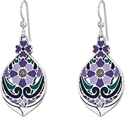 Casablanca Jewel Multi French Wire Earrings