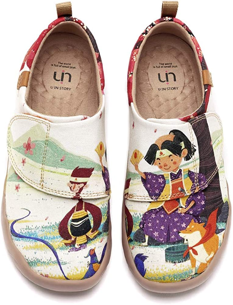 UIN Toddler Baby Kid Cute Shoes Painted Art Funny Walking Casual Fashion Sneakers Boy Loafers Rantaros Summer