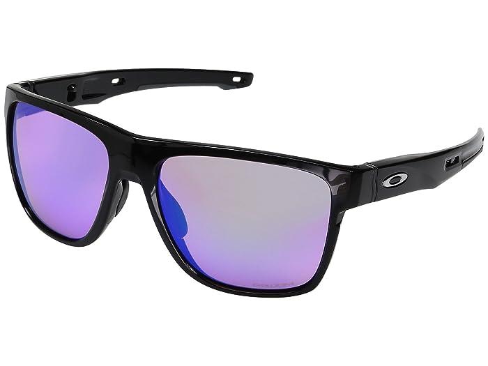 Oakley Crossrange XL (Polished Black w/ Prizm Golf) Fashion Sunglasses