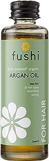 Fushi Organic Virgin Moroccan Argan Oil 50ml   Fresh-Pressed   Rich in Fatty Acids, Antioxidants, Vitamins A & E   Best fo...