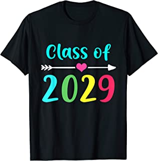Hippie Class Of 2029 Grow With Me Back To School Shirt