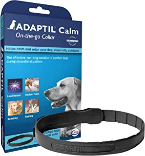 Adaptil Calm On-The-Go-Collar for Dogs (All Sizes ) | Constant Calming and Comfort..