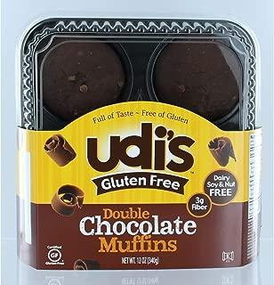 Udi's Gluten Free Double Chocolate Muffins