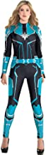 Costumes USA Captain Marvel Starforce Halloween Costume for Women, Superhero Jumpsuit, Extra Large, Dress Size 14-16