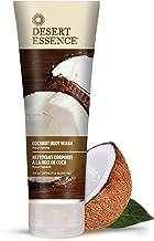 Desert Essence Coconut Body Wash - 8 Fl Oz - Pack of 2 - Nourishing Coconut Oil - Jojoba Oil - Skin Cleanser - Hydrating Organic Body Wash - Vegan - No Gluten & Parabens - Cruelty-Free