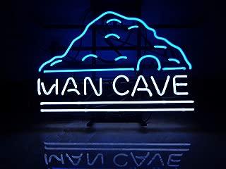 "XPGOODUSA-MAN CAVENeon Sign-MAN CAVE17""×13"" for Home Bedroom Garage Decor Wall Light, Striking Neon Sign for Bar Pub Hotel Man Cave Recreational Game Room"