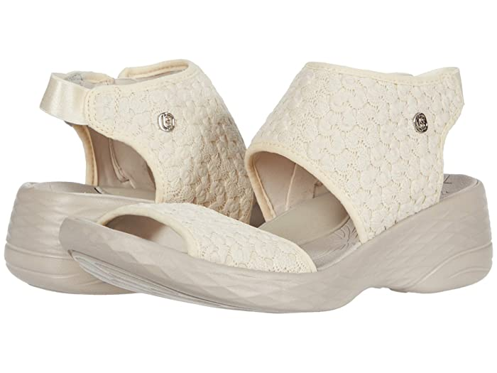 Bzees  Jessie (Cream Macrame) Womens Shoes