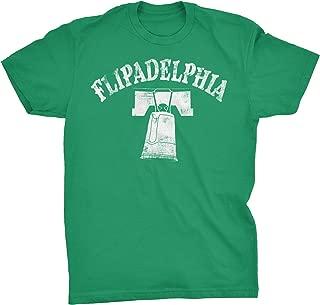 Flipadelphia - Distressed Print Vintage Style Flip Cup T-Shirt