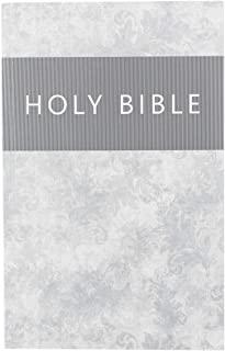 Holy Bible: KJV Thinline Glossy Soft Cover Edition: Silver