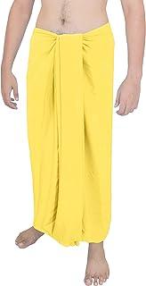 LA LEELA delle Sarong Costume da Bagno delle Donne Pareo Coprire con Nappe