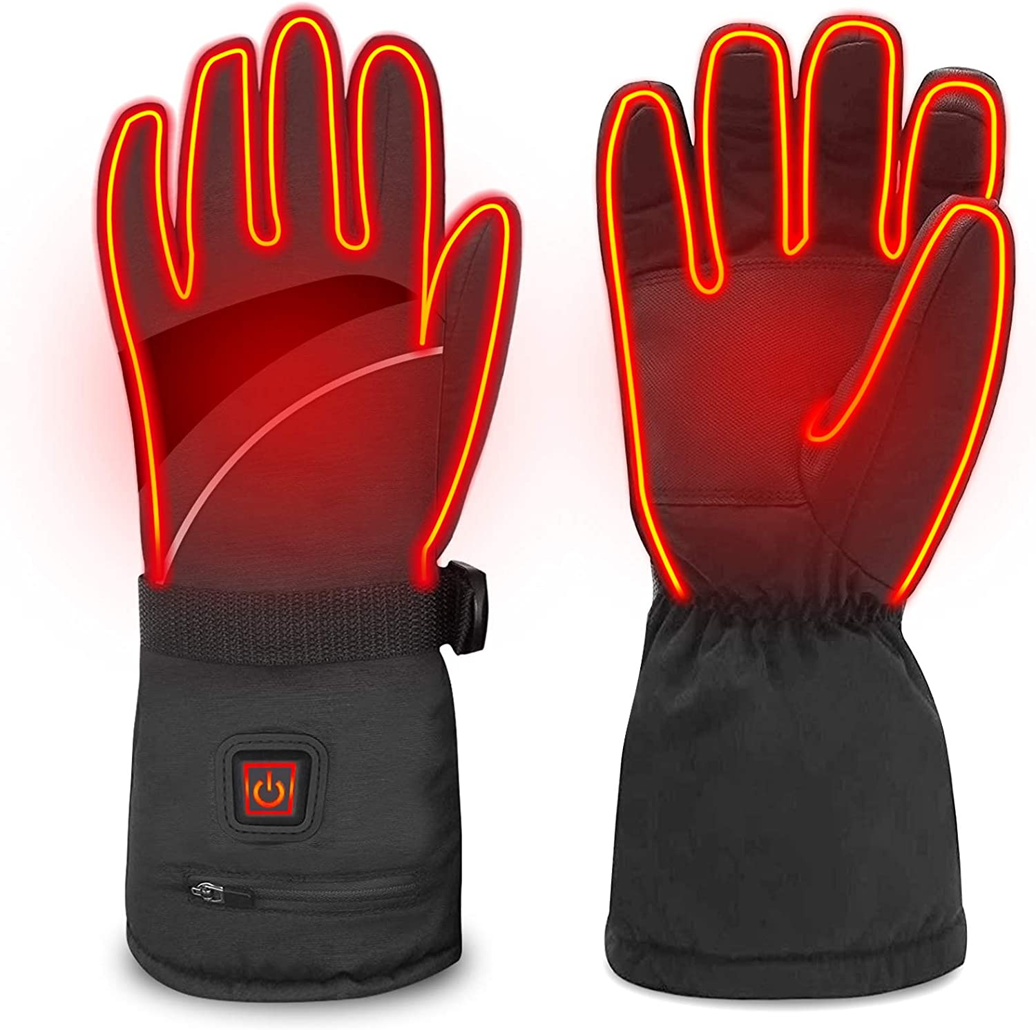 WAMTHUS Heated Gloves Electric for Complete Classic Free Shipping 3 Women Men Heating T