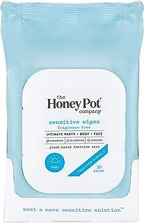 The Honey Pot Company Feminine Wipes - Sensitive, 30 Count