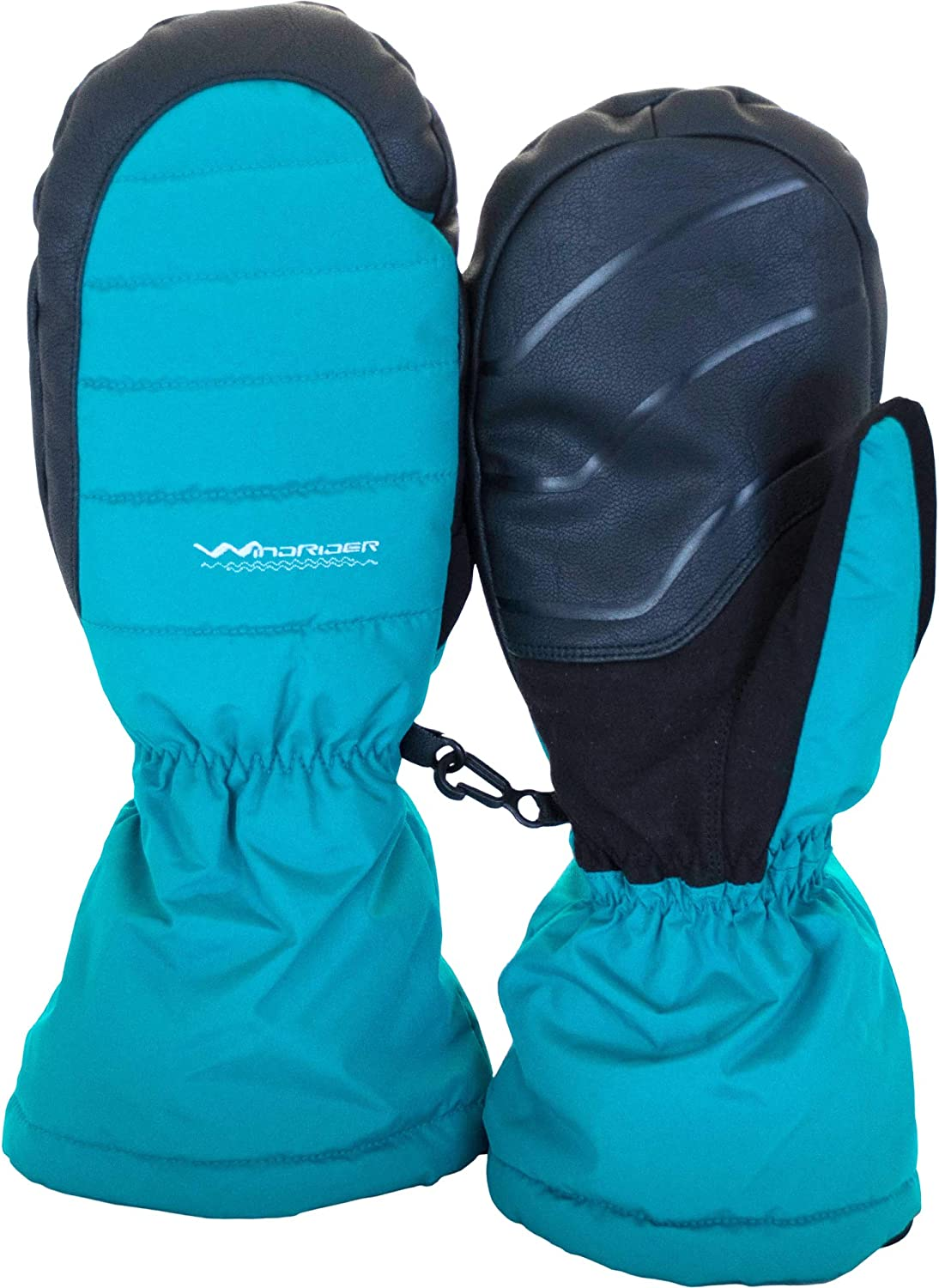 WindRider Puffy Winter Free Shipping New Mittens Super Omaha Mall Warm for Lined a Fleece Men