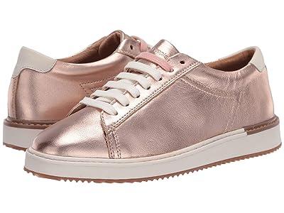 Hush Puppies Sabine Sneaker (Rose Gold Metallic Leather) Women