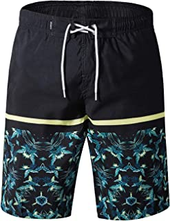 APTRO Men's Swimming Trunks with Pockets Beach Swimwear...