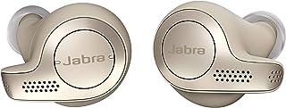 Jabra Elite 65t Earbuds – Alexa Built-In, True Wireless Earbuds with Charging Case, Gold Beige – Bluetooth Earbuds Enginee...