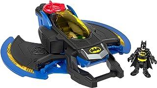 Imaginext DC Super Friends le Batwing, munitions et mini-figurine Batman incluses, jouet pour enfant dès 3 ans, GKJ22