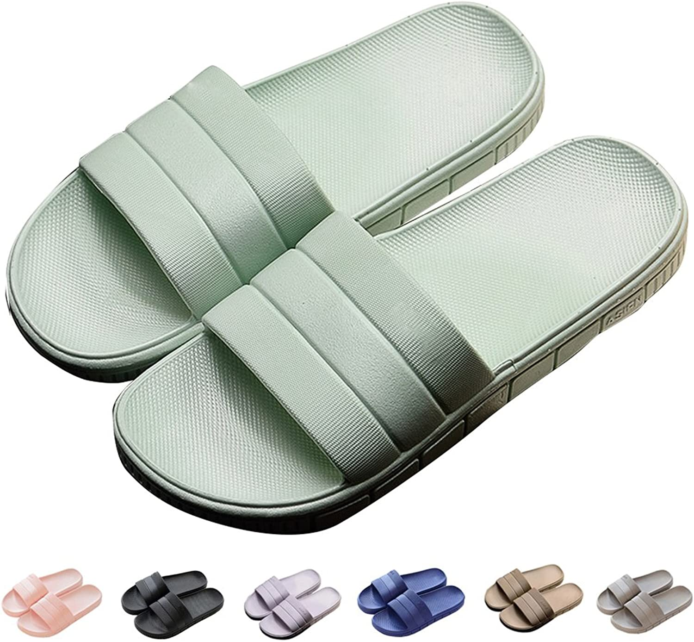 INFLATION Bath Slipper UnisexNon-Slip Open Toe Women Men Shower Sandals Indoor Anti-Slip Home Slippers
