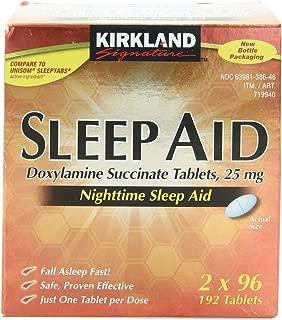 Kirkland Signature Sleep Aid Tablet, 192Count