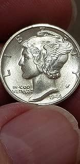 1944 mercury dime w