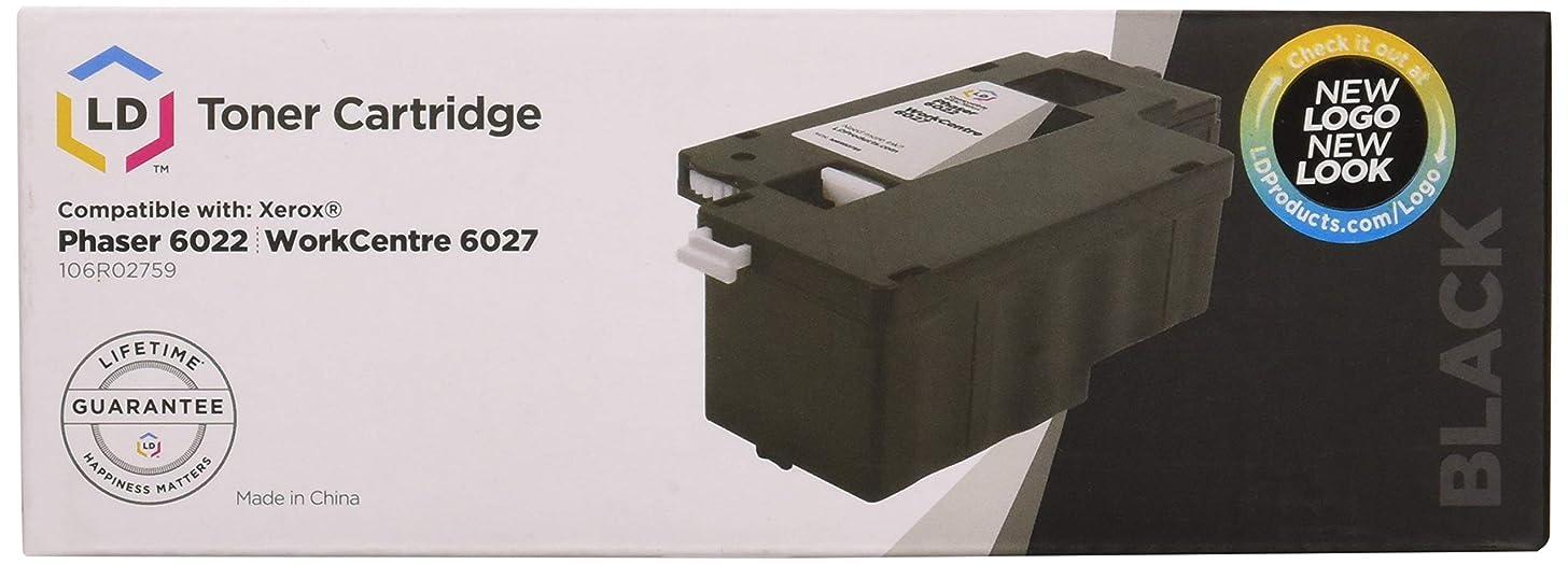 LD Compatible Xerox 106R02759 Black Laser Toner Cartridge for use in Xerox 6022 & 6027