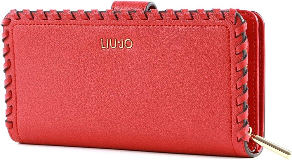 Liu jo portafoglio porta carte di credito per donna in ecopelle 44884