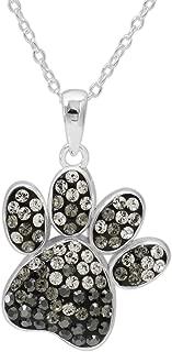 Best crystal paw print jewelry Reviews