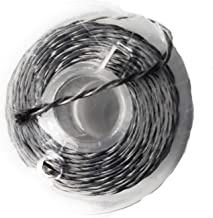 AMX3d Lilypad Low Voltage Circuit Wiring Solutions - 2 Ply Conductive Thread - Stainless Steel Twine for Lilypad Arduino and Wearable E-Textile Projects – Connect Battery Holders & LEDs, 10 Meters
