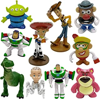 WENTS Toy Story 4 Pack de Aventuras de Woody y Perdigón, Juguetes niños Suministros Divertidos para Fiestas para niños peq...