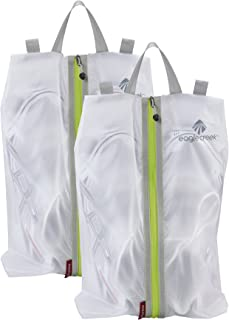 Eagle Creek Pack-it Specter Shoe Sac Set - 2 Pc Set, White/Strobe (White) - EC0A3EU3002