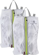 Eagle Creek Pack-It Specter Shoe Sac Set, White/Strobe, Set of 2