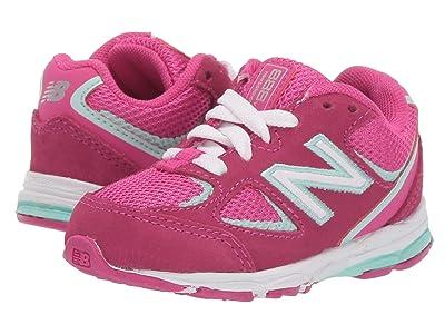 New Balance Kids 888v2 (Infant/Toddler) (Carnival/Light Reef) Girls Shoes