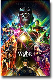 Avengers Infinity War Poster - Movie Promo 11 x 17 inches 1st