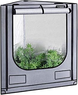 "VIVOSUN Triangle Grow Tent with Bigger View Window for Indoor Plant Growing 41""x57""x71"""